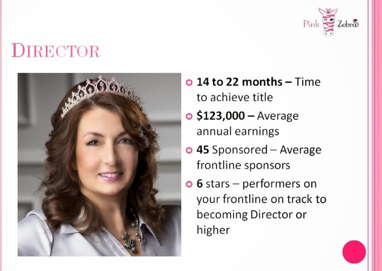 Pink Zebra Top Leader Earner - Director Perks