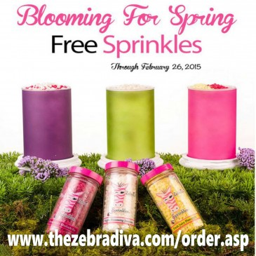 Free Pink Zebra Sprinkles –                               Hurry Limited Offer