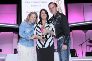With the Owners of Pink Zebra Tom and Kelly Gaines