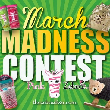 Free Pink Zebra Product Giveaway –     March Madness Contest