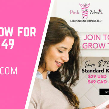 Join Pink Zebra for $29 US or $49 Canada – Hurry Limited Offer
